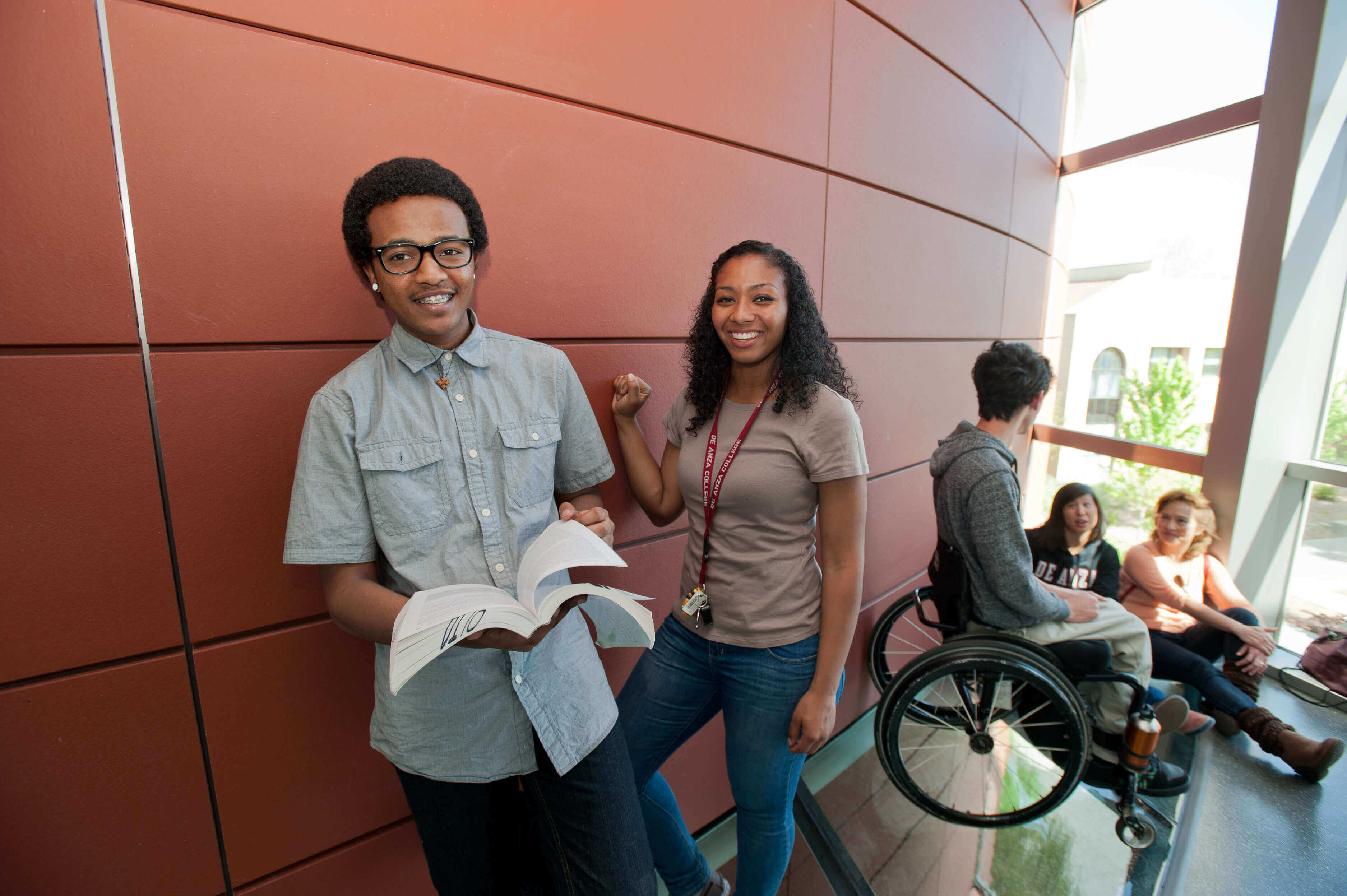 Students at the MLC