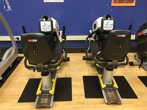 APE view of exercise stationary bikes