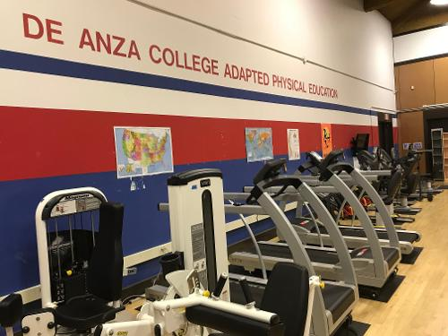 APE gymnasium of treadmills