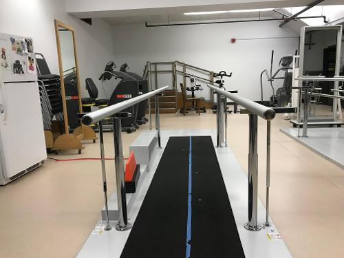 APE view of parallel bars