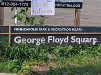 George Floyd Memorial in Minneapolis