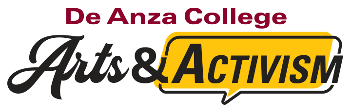 De Anza College Arts and Activism (logo)