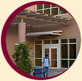 Kirsch Center entrance