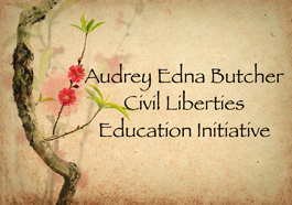 Audrey Edna Butcher Civil Liberties Education Initiative