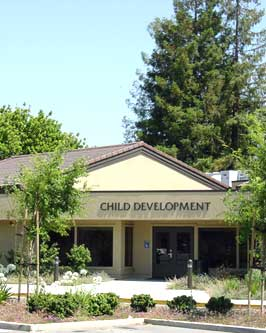 Front of Child Development Center