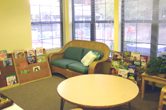 image of reading area
