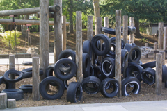 image of tire playstructure