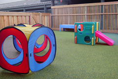 image of toys in Toddlers enclosed play area