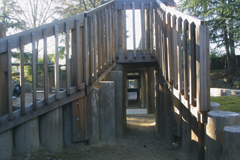 image of playstructure bridge