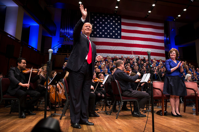 President Trump at Kennedy Center
