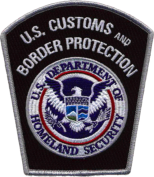 Customs and Border Protection uniform patch