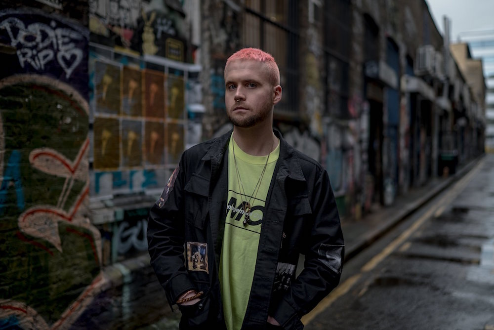 Christopher Wylie, who helped found the data firm Cambridge Analytica