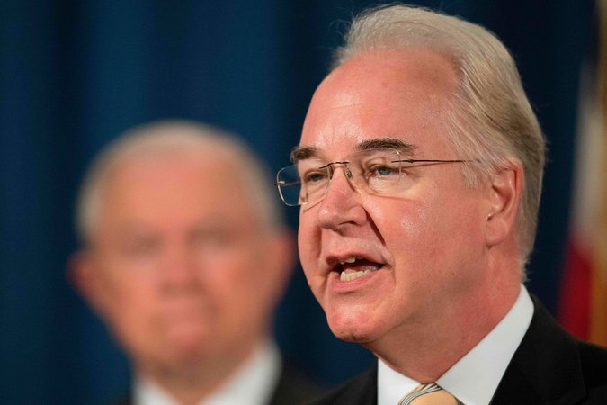 Tom Price, the secretary of health and human services