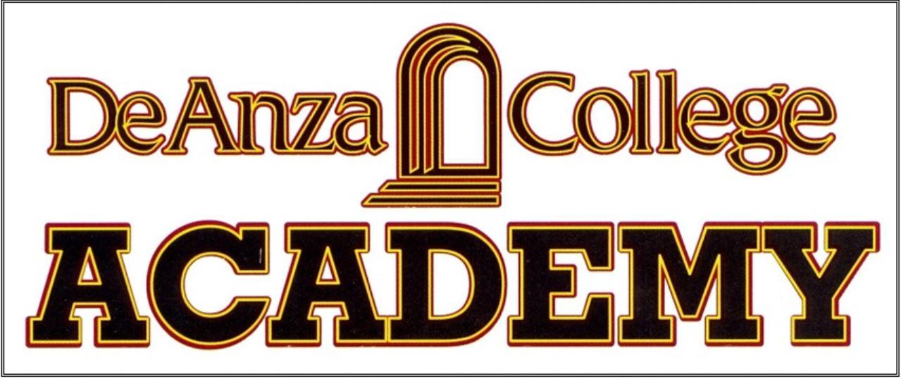 De Anza College Academy 2018