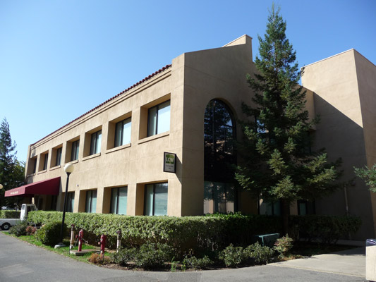 image of learning center west building