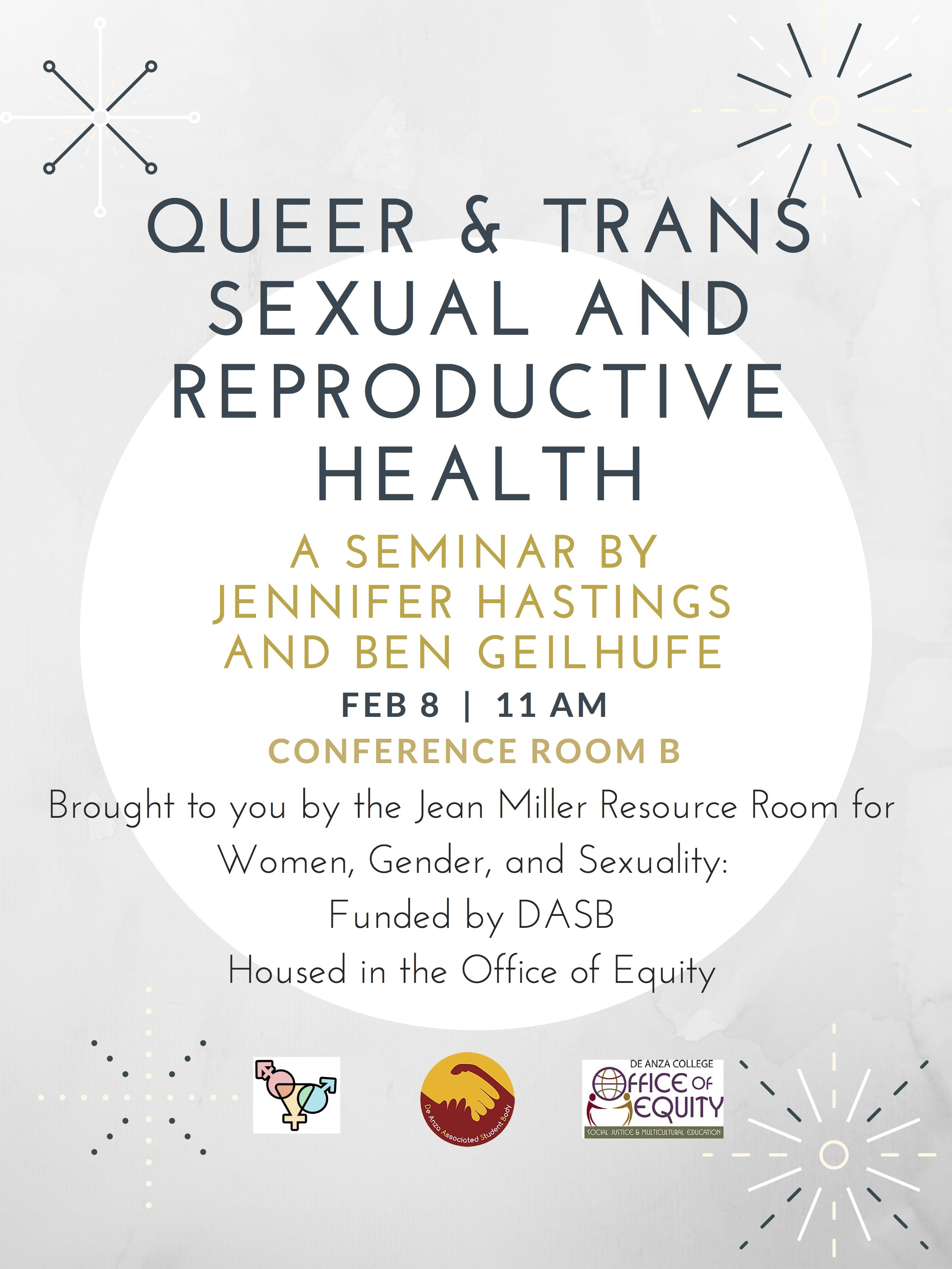 Queer & Trans Sexual and Reproductive Health Seminar