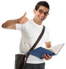 Student Thumbs Up
