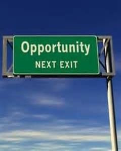 Opportunities Sign