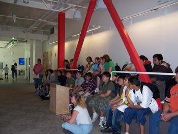 Students at Kirsch Center