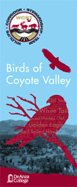 Birds of Coyote Valley Brochure