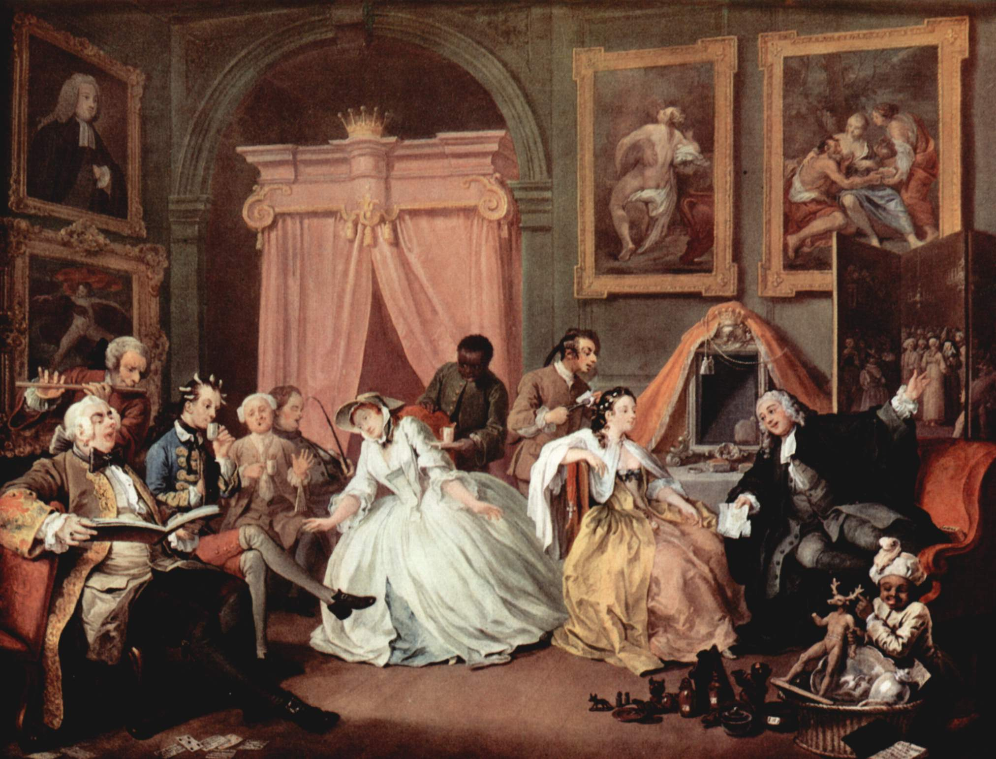 Hogarth Painting