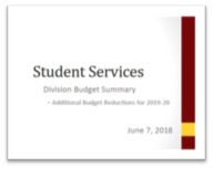 SS Budget Reductions 2