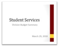 SS Budget Reductions