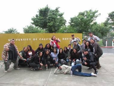 IMPACT students at UC Davis