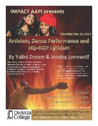 Yalini and Jendog Performance flyer image