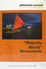 "Amerasia Journal: Asian American/Pacific Islander/Transcultural Societies ""Majority World"" Movements"