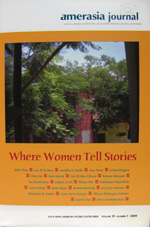 Amerasia Journal: Asian American/Pacific Islander/Transcultural Societies Where Women Tell Stories