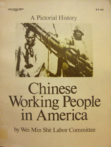 Chinese Working People in America: A Pictorial History book cover