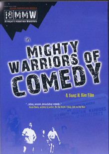 Mighty Warriors of Comedy DVD cover