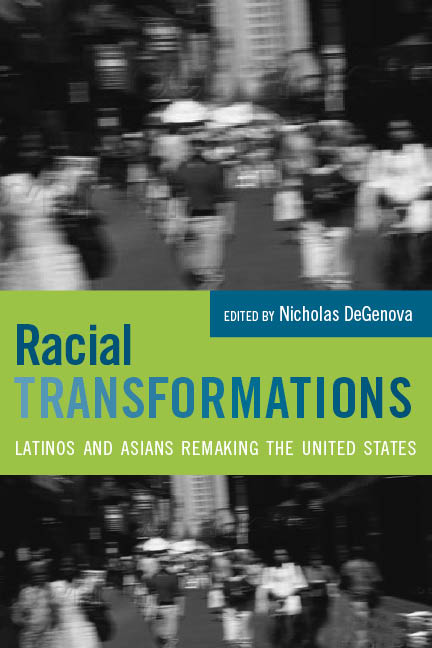 Racial Transformations book cover