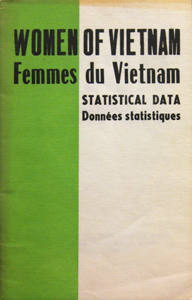 Women of Vietnam Statistical Data pamphlet cover