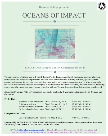 Oceans of IMPACT flyer