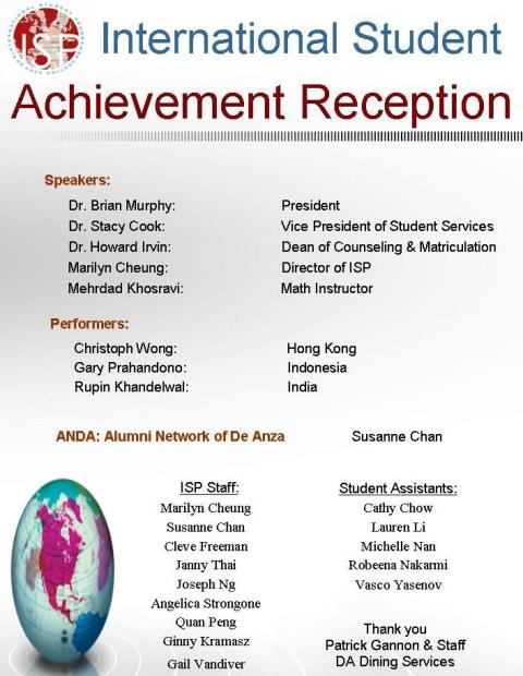 Achievement Reception
