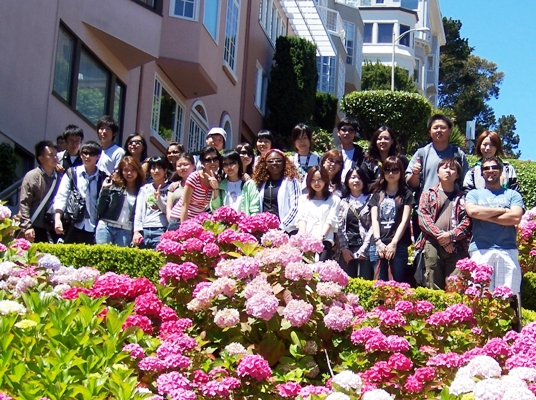 group at Lombard Street