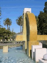 De Anza College Fountain