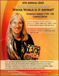 Whose World is it Anyway flyer