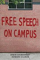 book cover of Free Speech on Campus