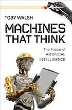 image of book cover for machines that think