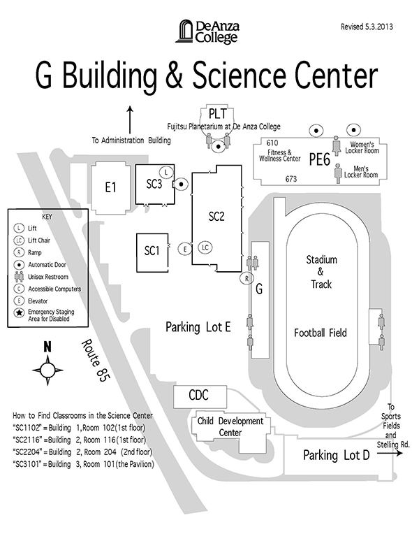 G Building map