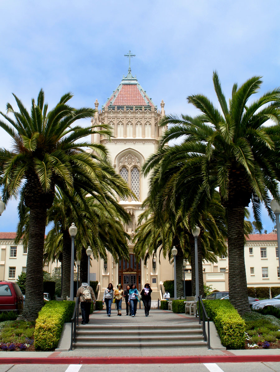 Entrance to University of San Francisco