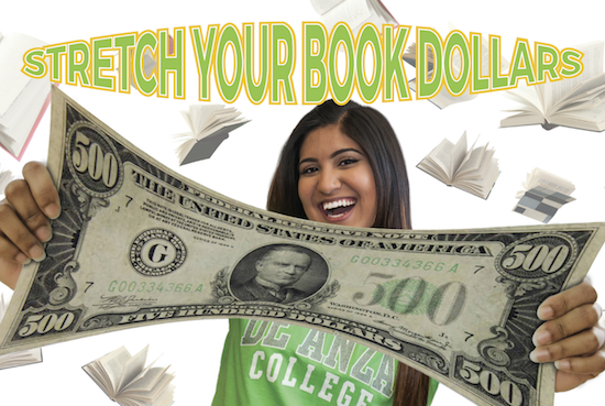 Expensive textbooks and other materials can be a challenge for many students. Fortunately, instructors are finding new ways to help your book dollars go further at De Anza.