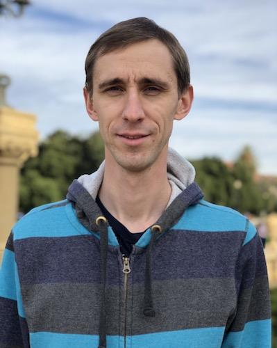 Business student Maksym Chernenko