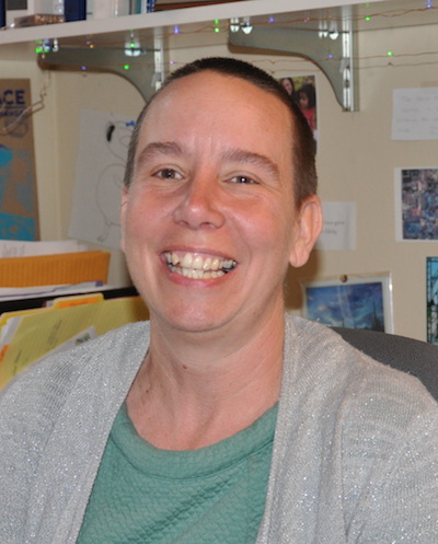 Sociology instructor Jennifer Myhre