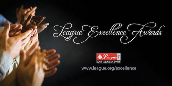 League for Innovation Excellence award winners
