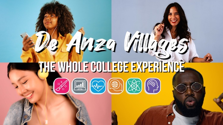 faces of students and caption: Guided Pathways – The Whole College Experience