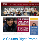 2-column right promo column